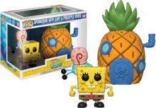 Funko Pop! Town: Spongebob with Pineapple - filmspullen.nl