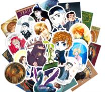 Fantastic Beasts sticker set [50 stuks] - filmspullen.nl