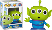 Funko Pop! Disney: Toy Story 4 - Alien - filmspullen.nl